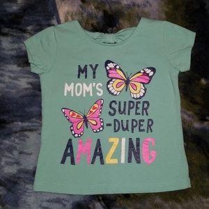 Girls shirt. Size 24 mo